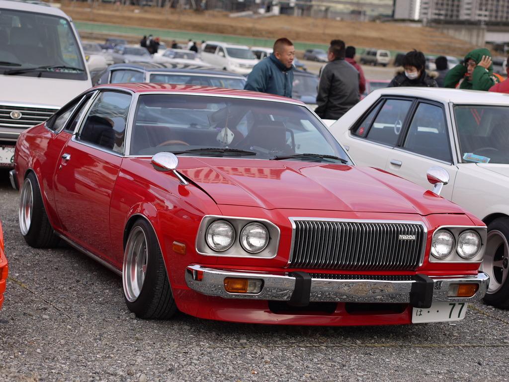 Mazda Cosmo AP  stary japoński samochód, klasyk, oldschool, 日本車, クラシックカー