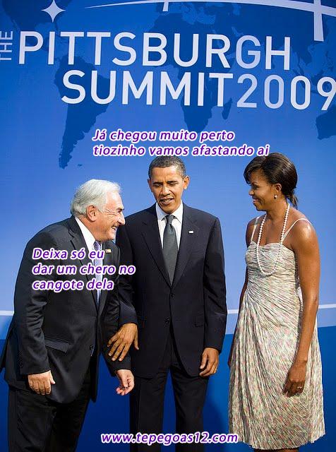 Obama na