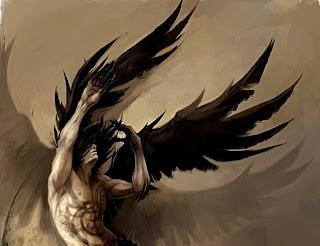 krila padlega angela │ moj črni plašč iz neprespanih noči │ moj križ
