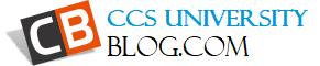 CCSUniversityBlog | Chaudhary Charan Singh University Meerut