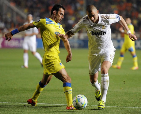 Pertandingan Real Madrid Vs Apoel, Hasil Madrid vs apoel