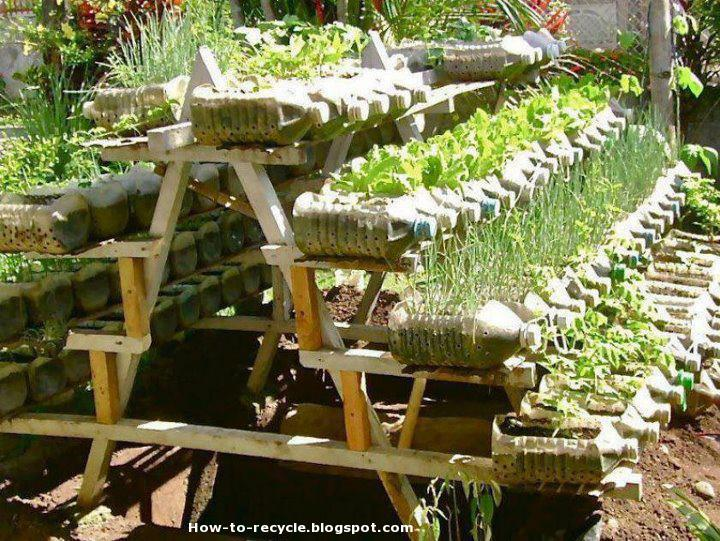 How to recycle creative items made from plastic bottles for Waste things uses