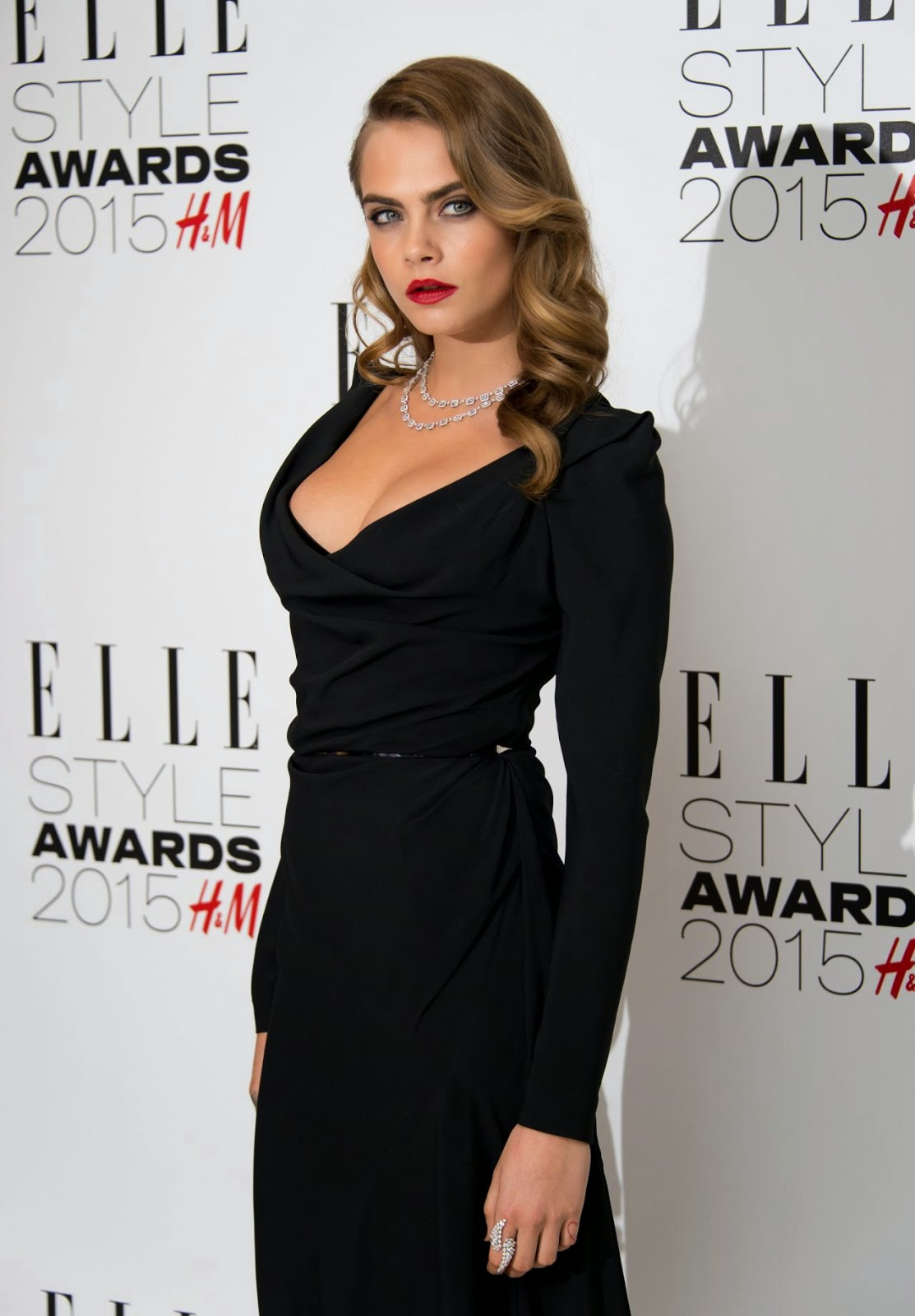 Cara Delevingne – 2015 ELLE Style Awards in London