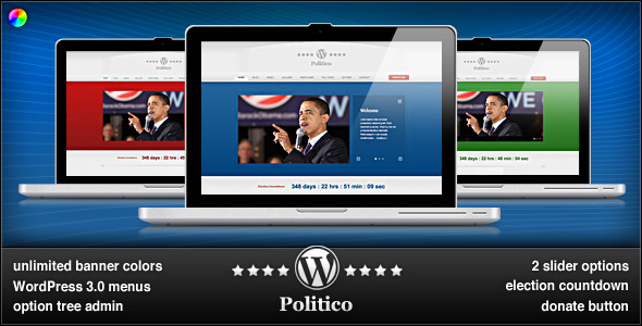 WordPress Politico Theme Free Download by ThemeForest.