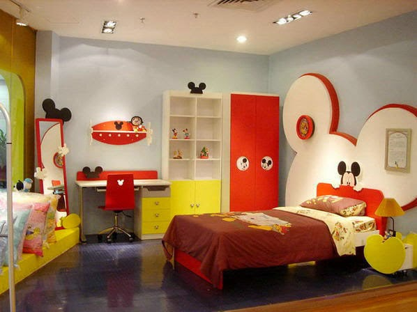 Decorating-Room-Children-Bedroom-Minimalist-Small