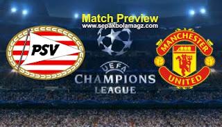 PSV Eindhoven vs Manchester United