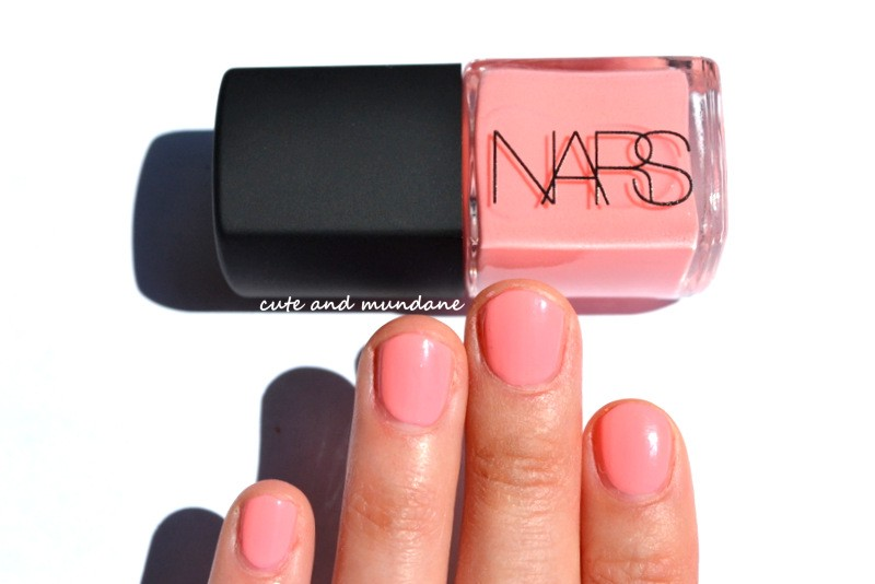 Cute and Mundane: NARS Trouville nail polish review