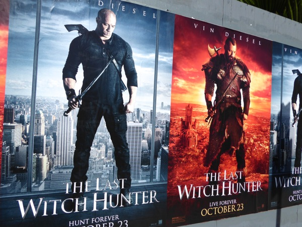 Vin Diesel Last Witch Hunter movie posters