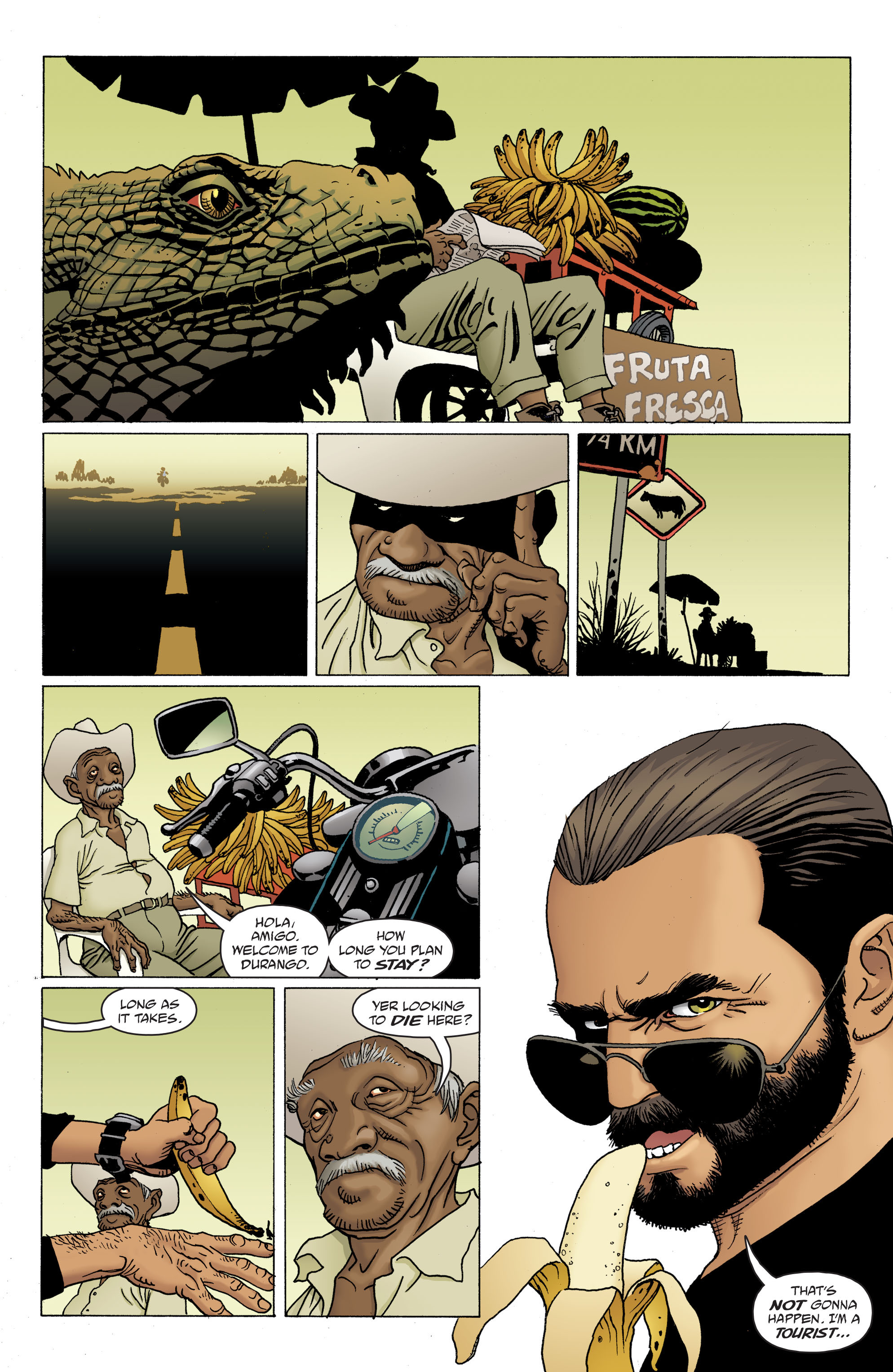 100 Bullets: Brother Lono Full Page 80