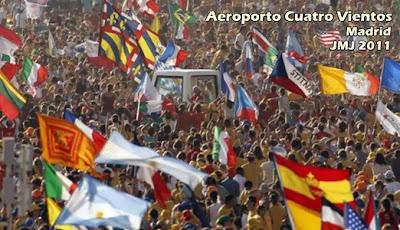 JMJ Madri gerou 354 milhões de euros