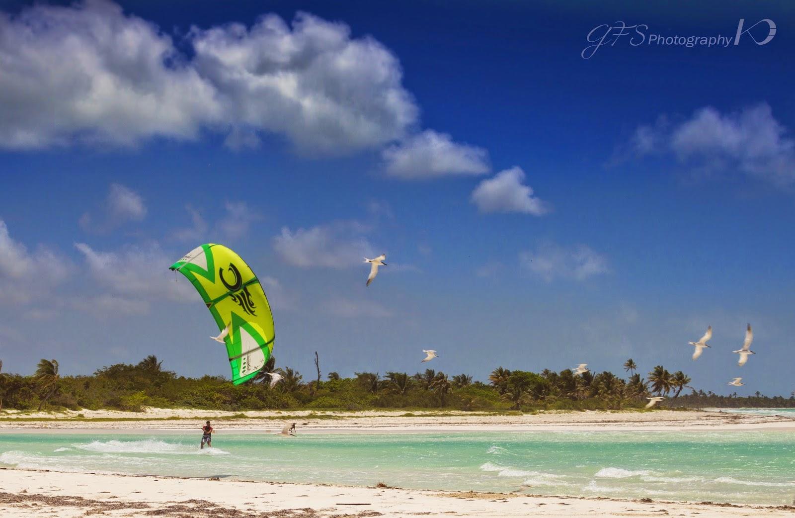 boca paila esturay sian ka'an kitesurf spot kiteboarding
