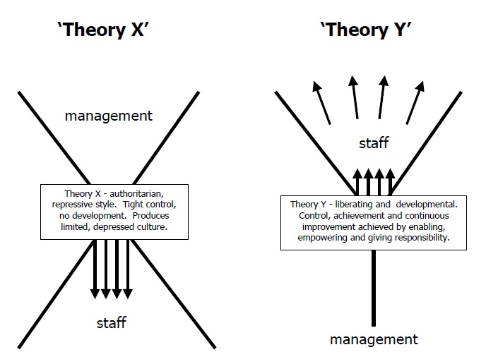 theory x examples
