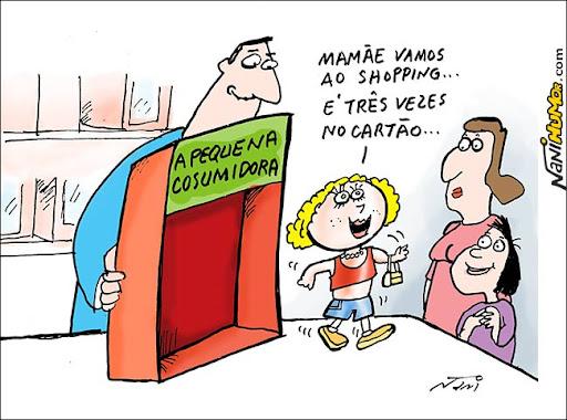 A pequena consumidora