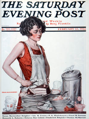 The Saturday Evening Post June 14th 1919 Norman Rockwell