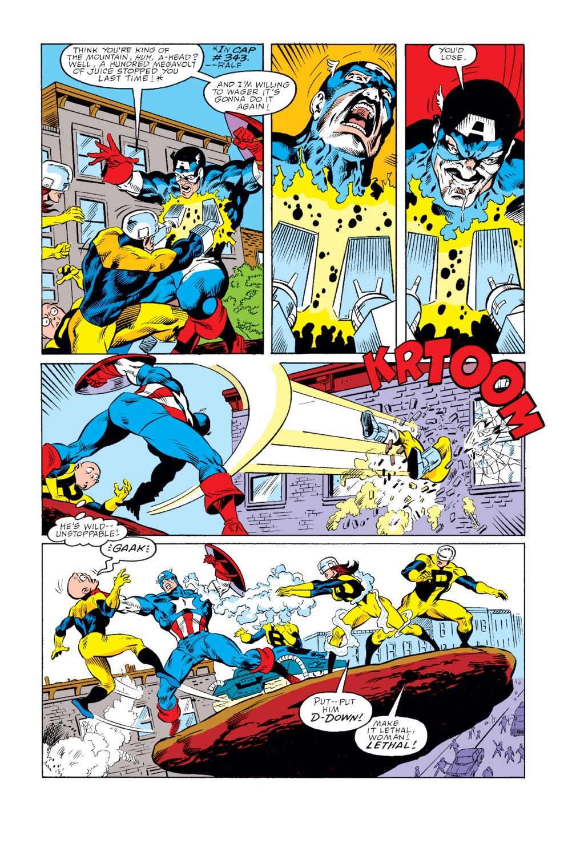 Captain America (1968) Issue #346 #276 - English 21