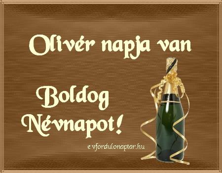 November 21 - Olivér névnap