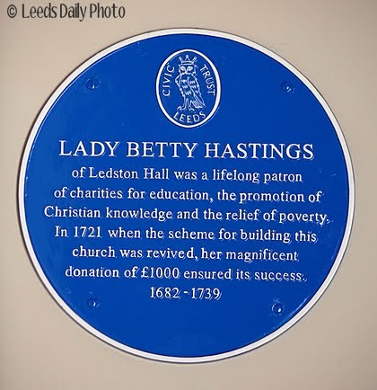 Betty Hastings Blue Plaque