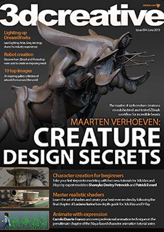 3D Creative Magazine Issue 094 June 2013