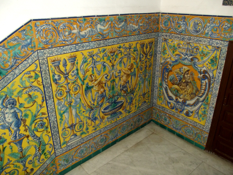 Azulejos patio andaluz latest affordable patio andaluz - Azulejos para patio ...