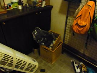 玄関の片付け掃除ビフォー&アフター ビフォー画像