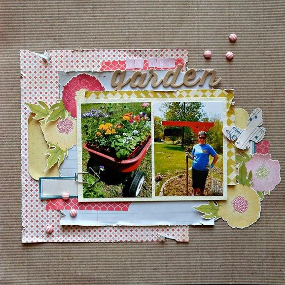 Garden Floral Layout