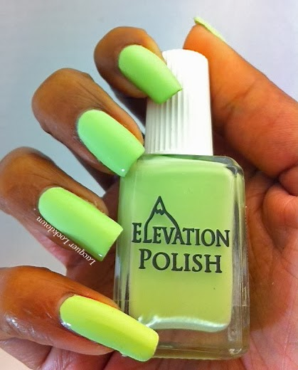Lacquer Lockdown - Elevation Polish, Elevation Polish Cuernos del Paine, nail art, Nail Vinyls, stripped nails, studdent nails, Elevation Polish Patagonia Collection, indie polish, spring polish, spring nail art, easy nail art, diy nail art, cute nails, cute nail art ideas, nude nails, lime green nails