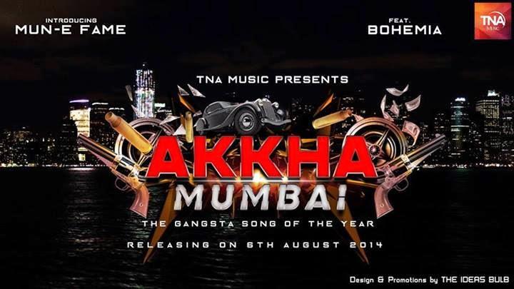 BOHEMIA x MUN-E FAME - AKKHA MUMBAI (DIGITAL POSTER) droppin August 6th 2014!