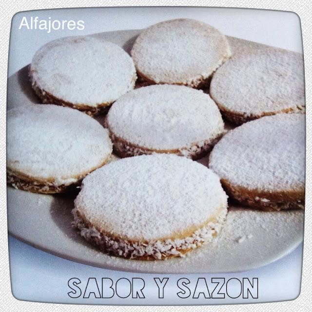 ALFAJORES DE MAICENA - Receta    http://elpostreperuano.blogspot.com