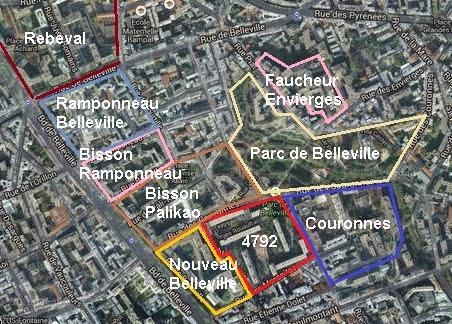 La r novation de belleville plateau hassard le blog for Plan de belle villa