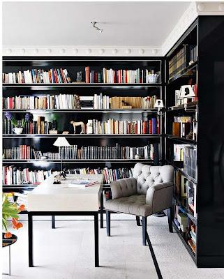 biblioteca caseira, biblioteca em casa
