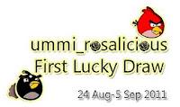 Ummi 1st Lucky Draw.