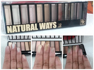 Paleta 12 cores Natural Ways  Ruby Kisses da Kiss New York