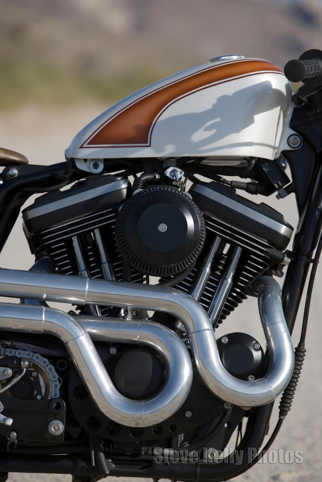 Harley Davidson Sportster Cafe Racer Mulato