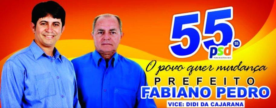 Fabiano Prefeito 55