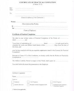 Certificate practical completion sample gallery certificate design portfolio 2013 figure 4 certificate of practical completion yadclub gallery yadclub Choice Image