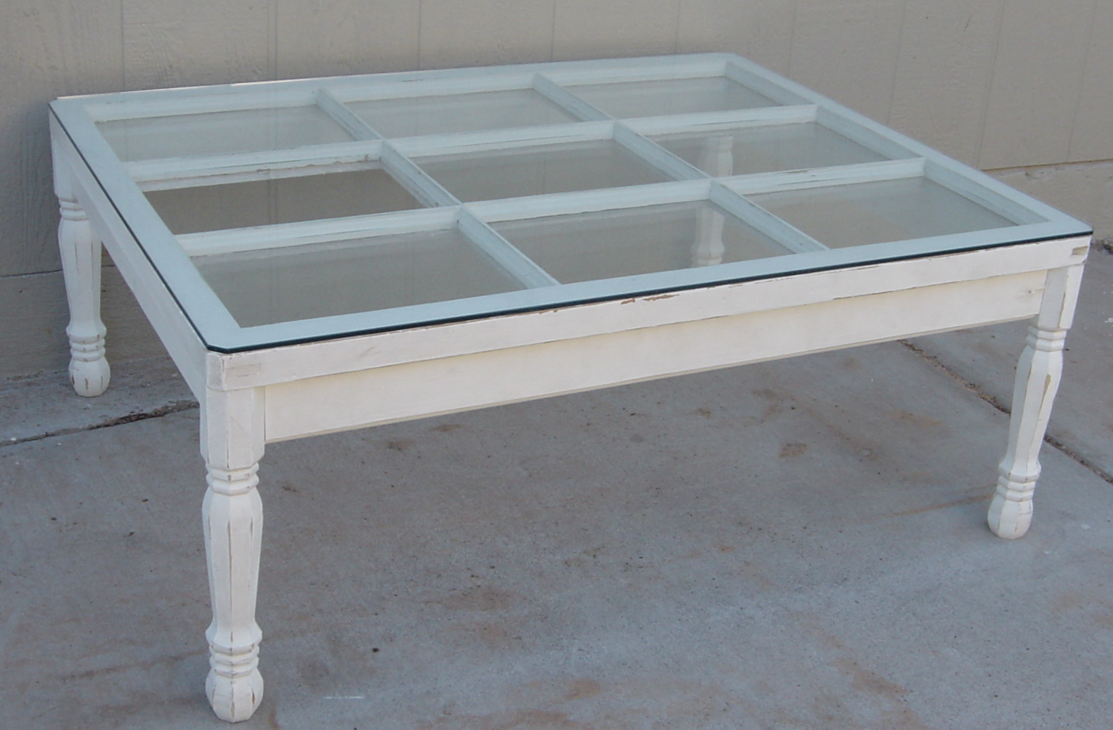 The Backyard Boutique By Five To Nine Furnishings Vintage Window Coffee Table