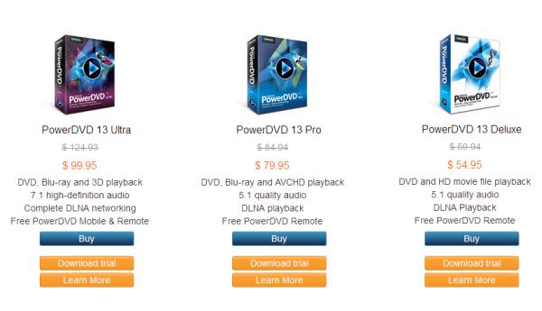 cyberlink powerdvd 13 ultra free download