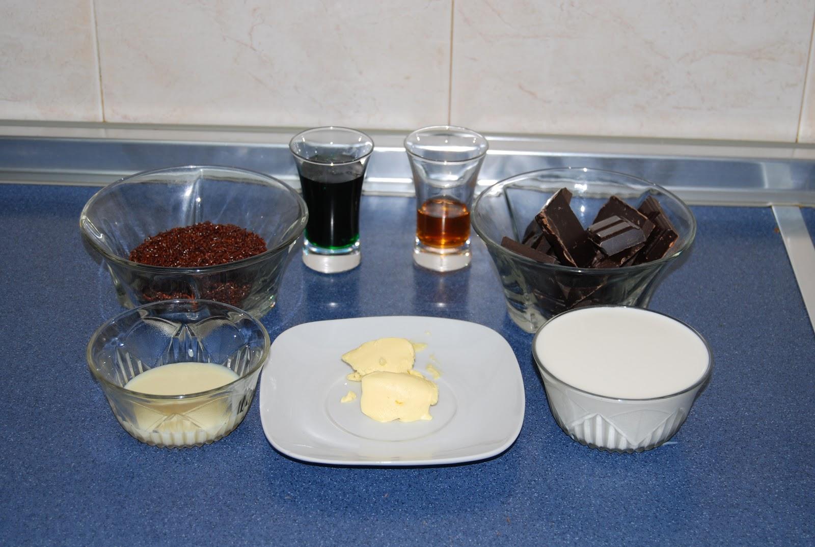 Cocina para principiantes trufas de chocolate y menta - Cocina para principiantes ...