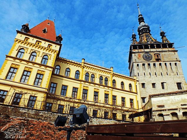 panorama turnul cu ceas sighisoara