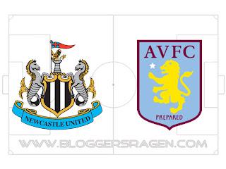Prediksi Pertandingan Newcastle United vs Aston Villa