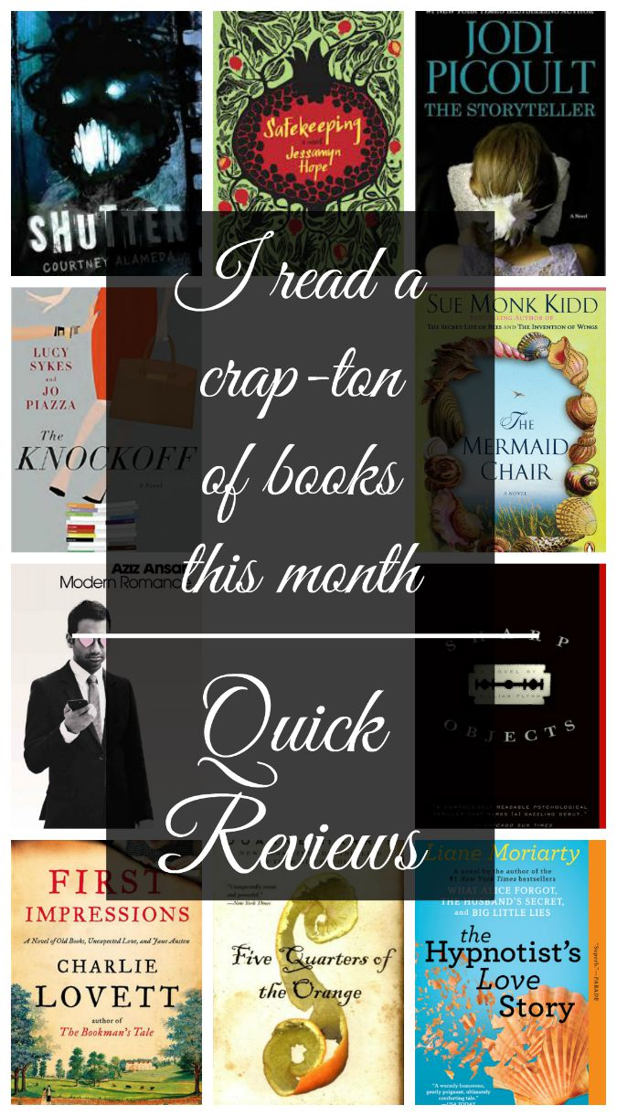 Short and Sweet book reviews
