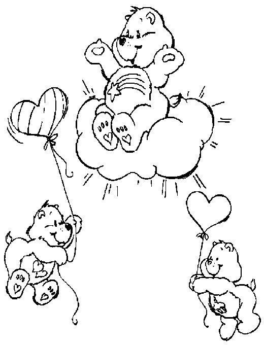 Ursinhos Carinhosos Para Pintar Fraldas