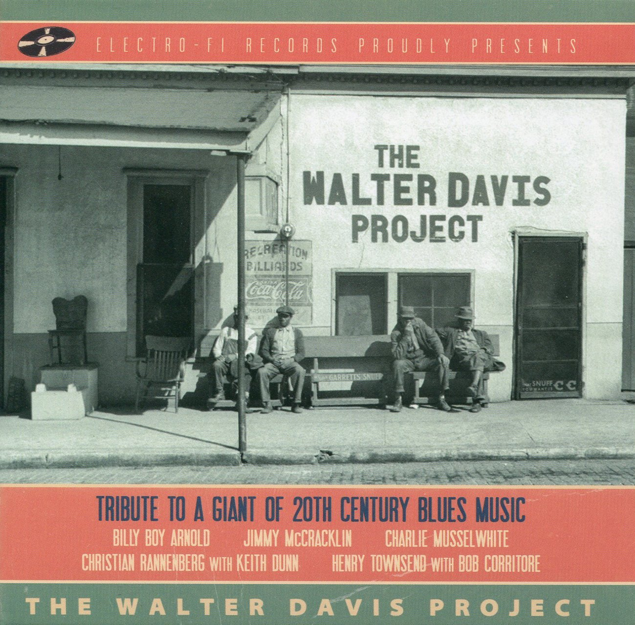In a Blue Mood The Walter Davis Project