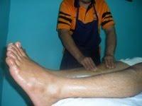 Bahagian depan kaki