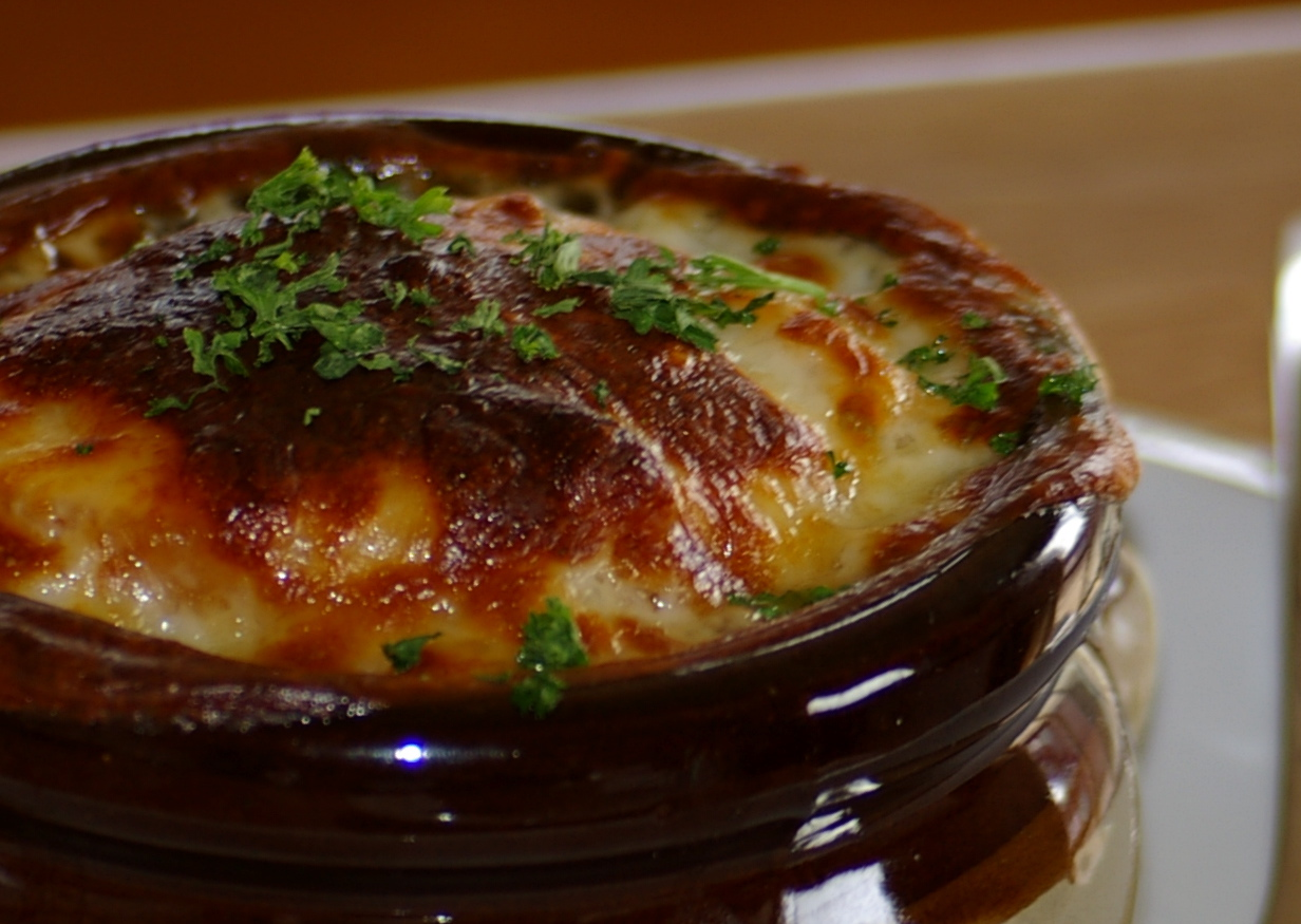 Bastille Day French Onion Soup