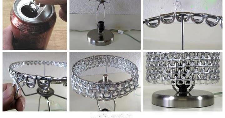 Ideas para reciclar lampara de anillas de refresco - Ideas para lamparas ...