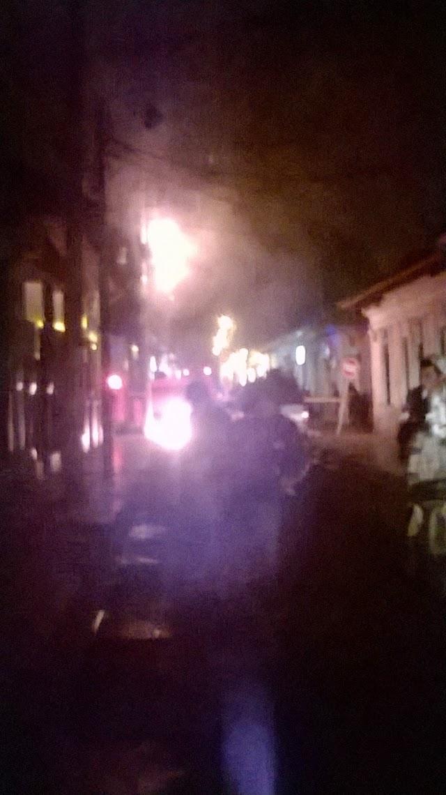 Bomberos apagan incendio en Facatativá
