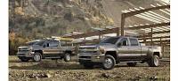 2015 Chevrolet Silverado Trucks
