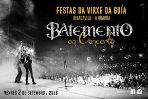 RIBADAVILA (A GUARDA): VENRES DÍA 2 DE SETEMBRO, BATEMENTO EN CONCERTO.