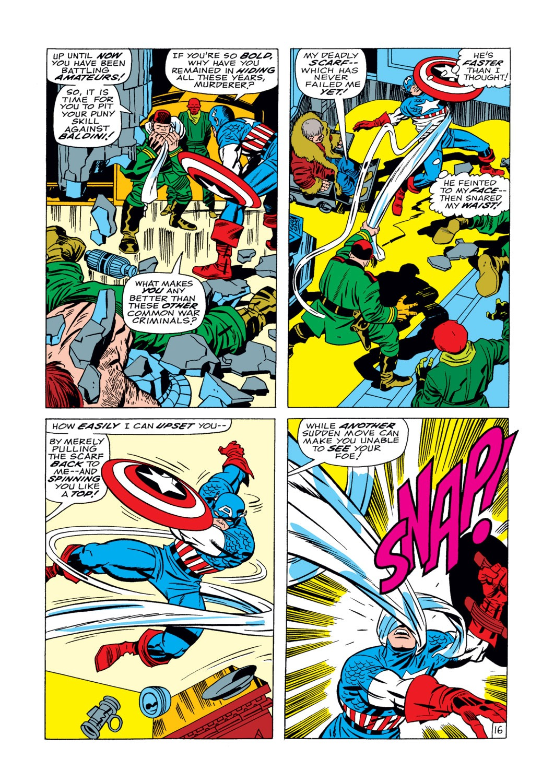 Captain America (1968) Issue #104 #18 - English 17